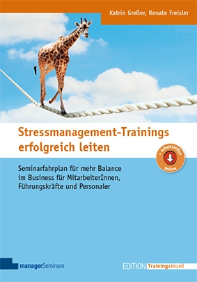 Cover Stressmanagement Trainings